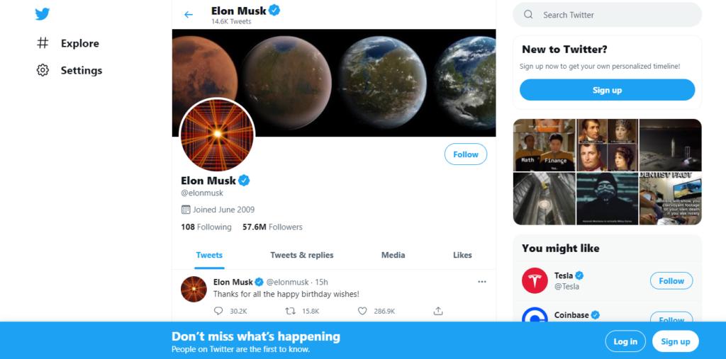 Best productivity resources: Twitter - Ilon Musk