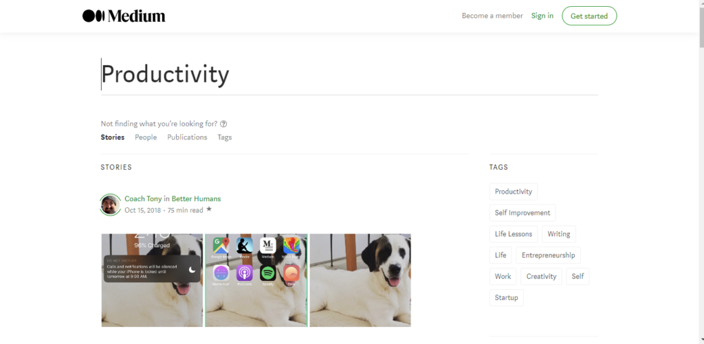 Best productivity resources: More resources - Medium Productivity Category