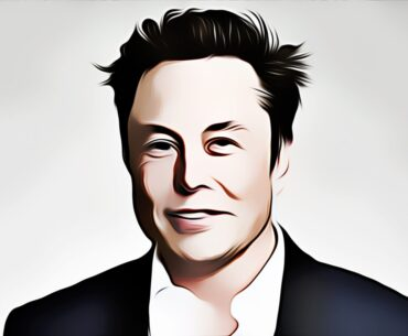 Elon Musk animated picture