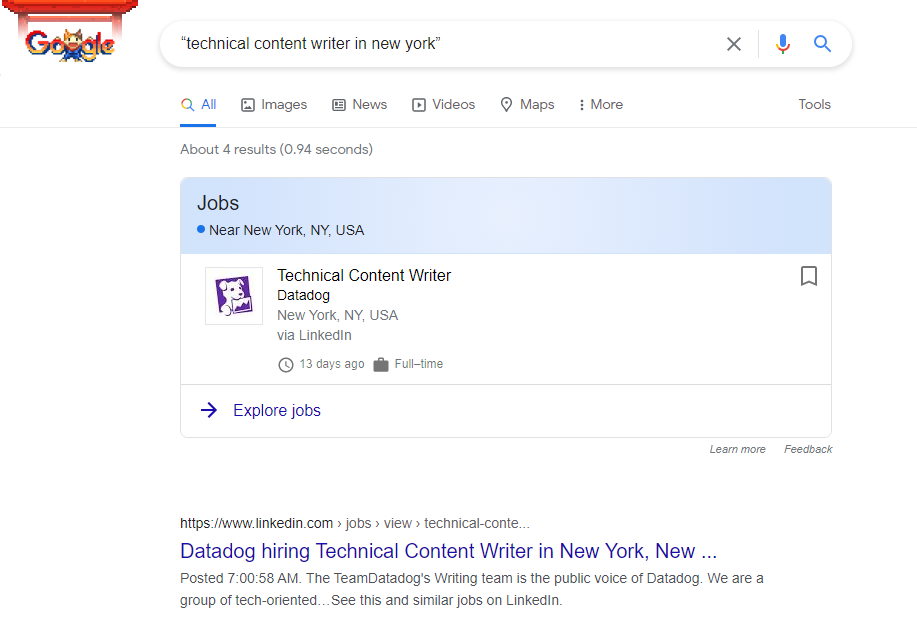 How Google search works using quotation marks to search in the exact same manner