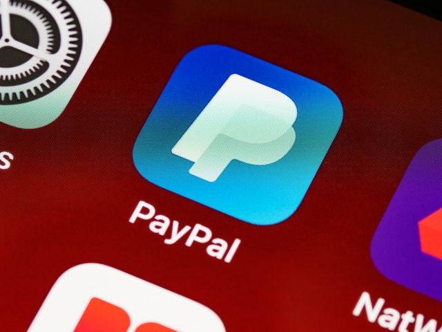 PayPal application icon for smartphones