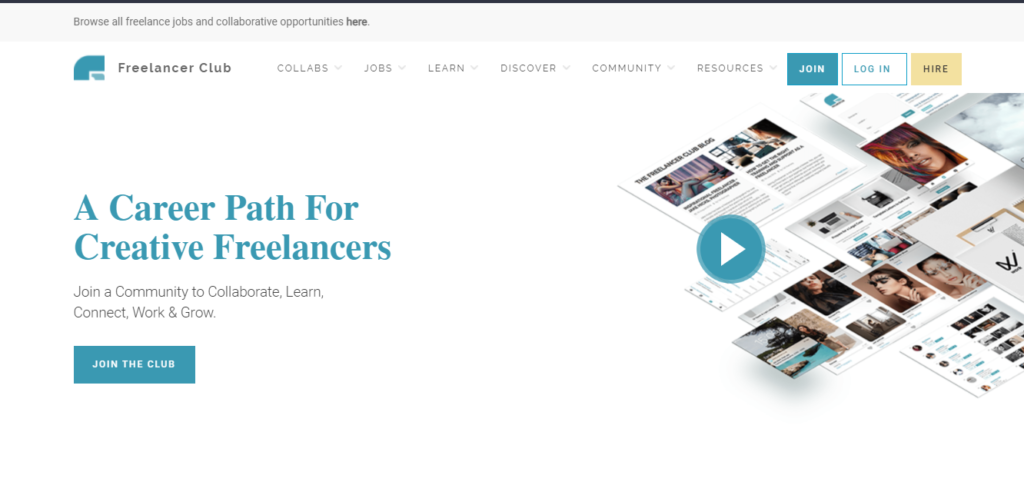 Low competition freelancing: TheFreelancerClub