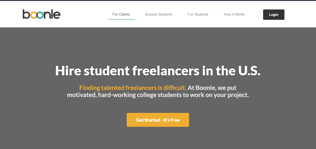 Low competition freelancing: Boonle